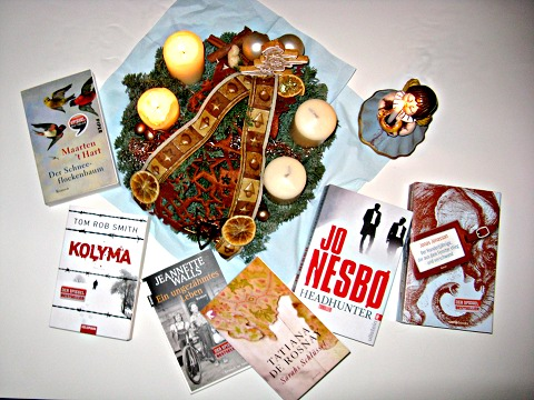 Sieben Bücher rund um den Adventskranz