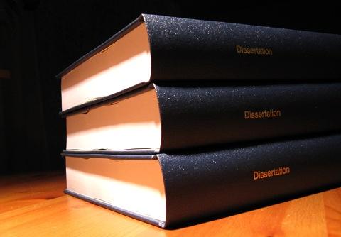 Dissertation - 3 Exemplare