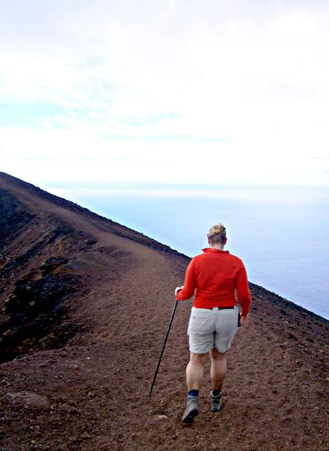 La Palma - Volcán de San Antonio mit Wander-Elfe