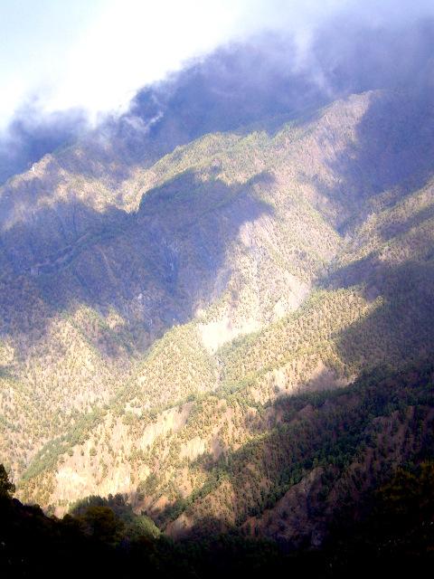La Palma - Die Caldera de Taburiente vom Pico Benejado