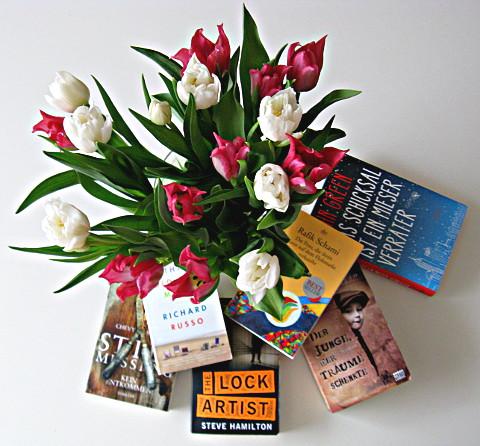 Bücher 2013 - 1: Mit Blumen, ohne Hund