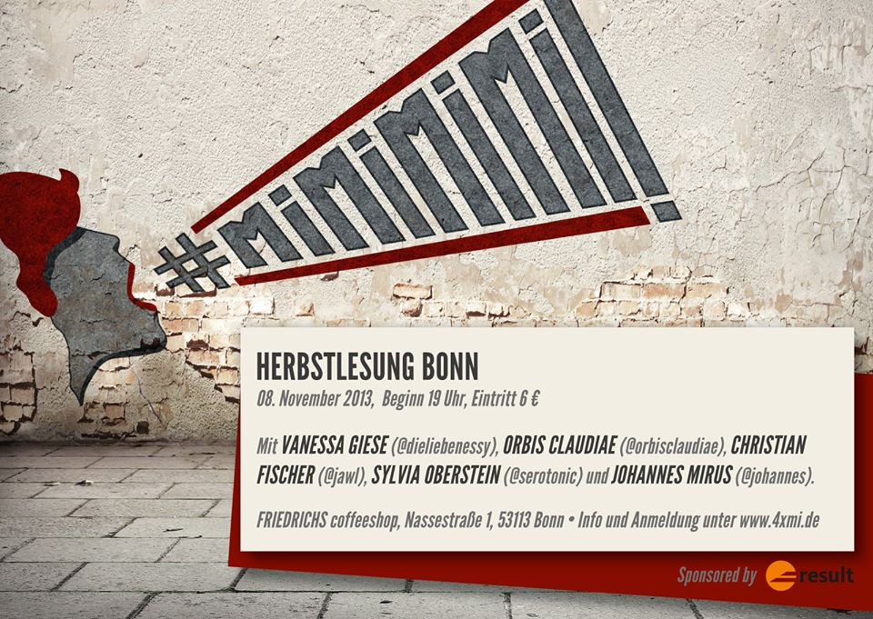 #mimimimi - Herbstlesung Bonn