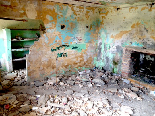 Verlassenes Haus in La Cebadilla
