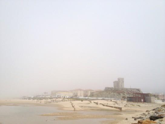 Tarifa im Nebel