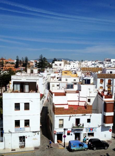 Tarifa, Blick über die Dächer der Stadt