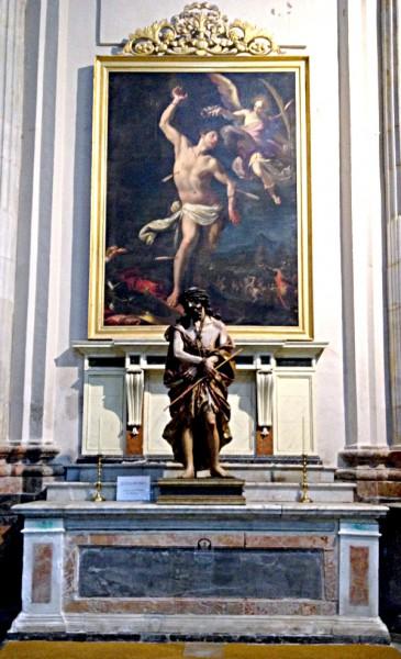 Der Heilige Sebastian in der Kathedrale von Cádiz