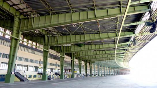 Tempelhof: Dach