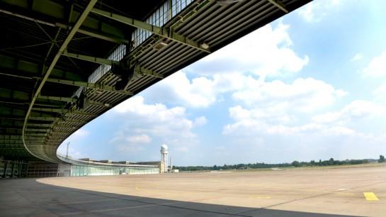 Tempelhof: Das Dach