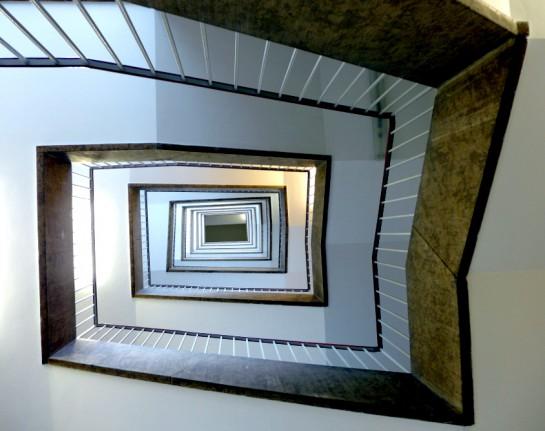 Tempelhof: Treppenhaus