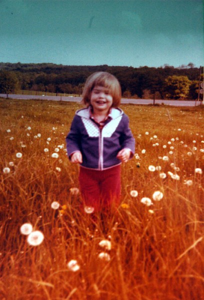 Kinderfoto Wiese