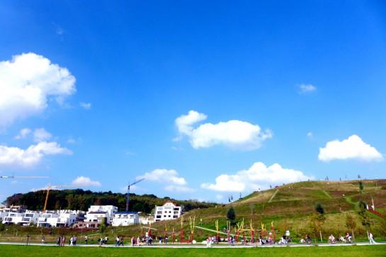 Phoenixsee - Hügel und Spielplatz
