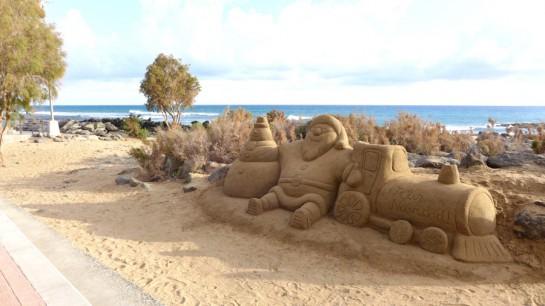 Gran Canaria: Sandkunst in Maspalomas