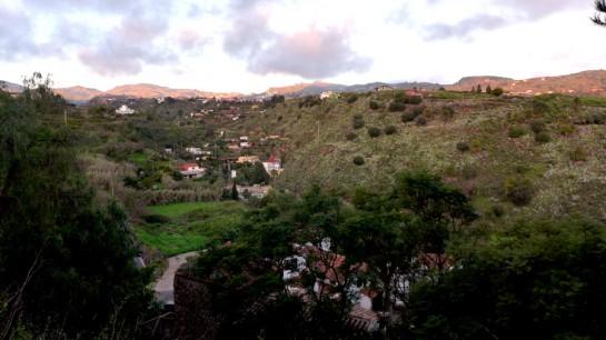 Santa Brigida: Auf der Terrasse
