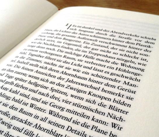 Kristine Bilkau: Die Glücklichen - Kapitel 1