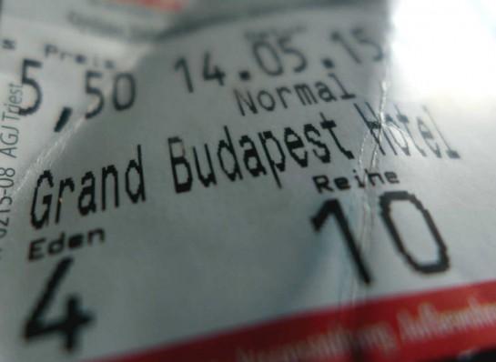 Kinokarte: Grand Budapest Hotel