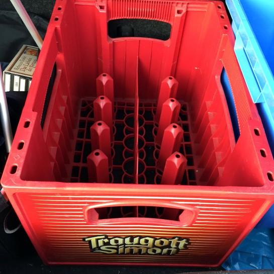 Traugott-Simon-Kasten im Kofferraum