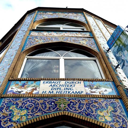 12von12 im November: Buntes Gebäude in Lünen