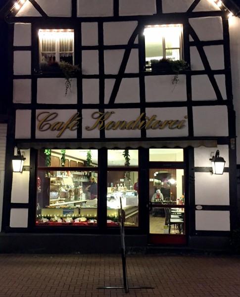 12von12 im November: Café Kleimann im Fachwerkhaus in Lünen