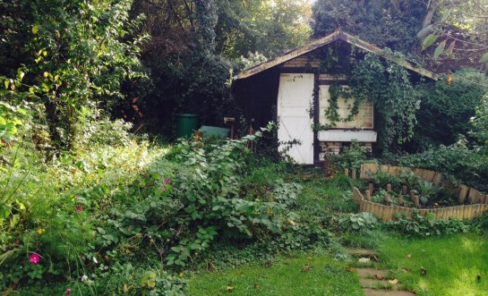 Gartenhütte des Grauens