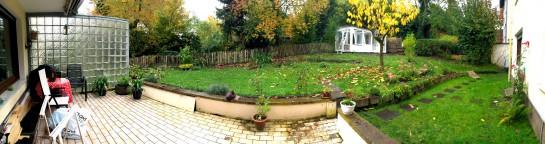 Vor der Gartenneuanlage