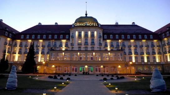 Sopot: Grandhotel in der Dämmerung