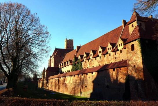 Malbork - Marienburg von außen