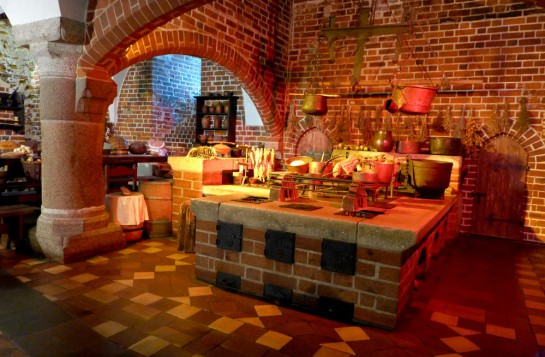 Malbork: Küche