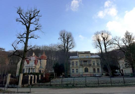 Wrzeszcz: Stadtvillen