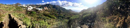 Blick ins Tal, Rückweg