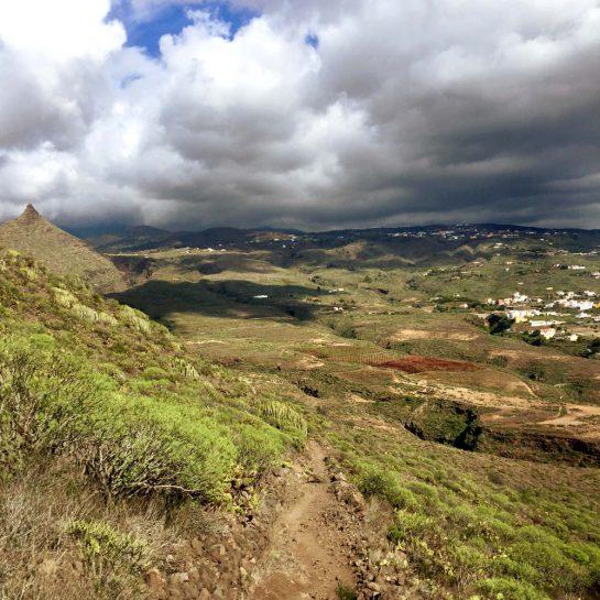 Teneriffa: Wanderung auf den Roque de Conde, Rückweg