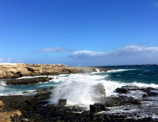 Teneriffa: Porís de Abona, Strand