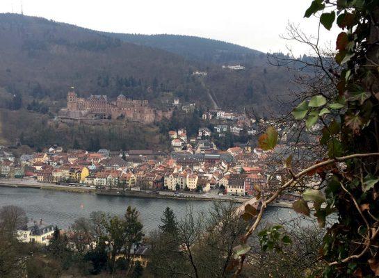 Heidelberg: Philosophenweg, Aussicht