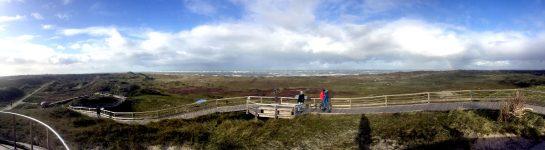 Norderney: Panoramablick von der Aussichtsdüne