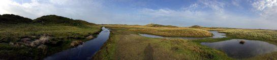 Norderney Ostende: In den Dünen, Wasserflüsse