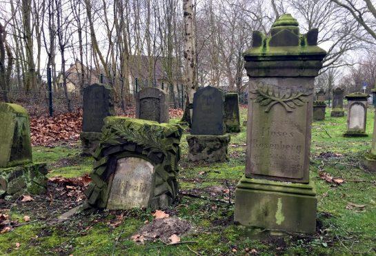 Juedischer Friedhof Aplerbeck: Grabmale aus der Nähe, Grab von Moses Rosenberg