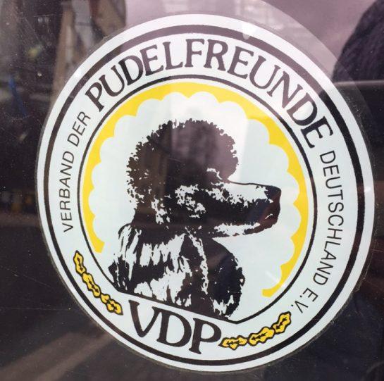 Aufkleber: Verband der Pudelfreunde Deutschland e.V.