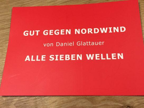 Postkarte: Gut gegen Nordwind