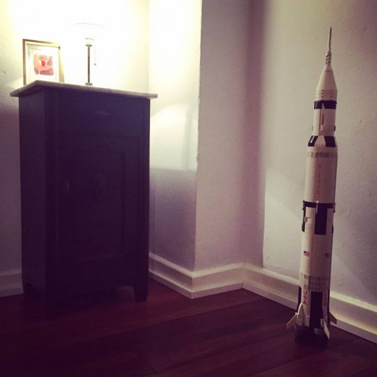 Lego-Saturn-Rakete