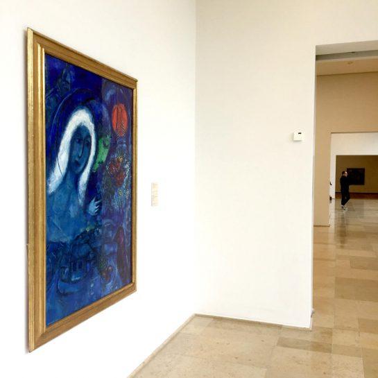 Chagalls Marsfeld im Museum Folkwang