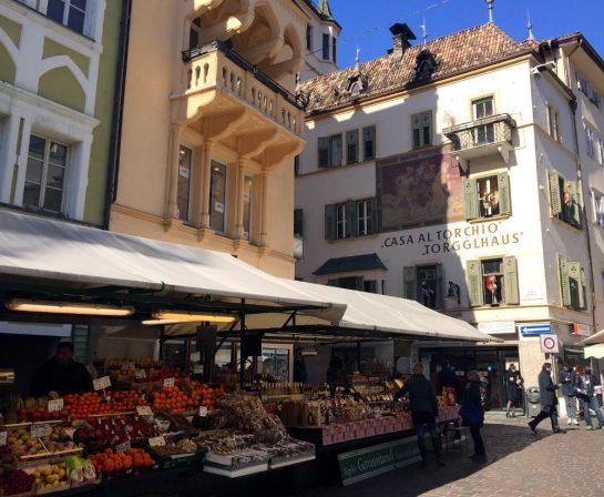 Bozen, Marktstände