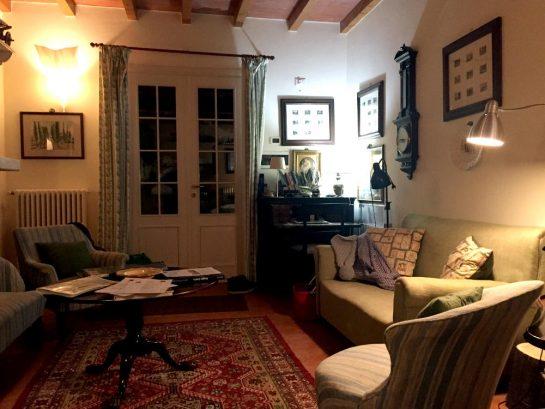 La Barquessa: Wohnzimmer