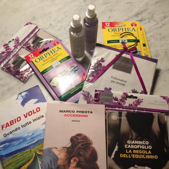 Einkäufe: Bücher und Orphea-Duft