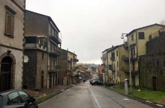 Montefiascone, Straße