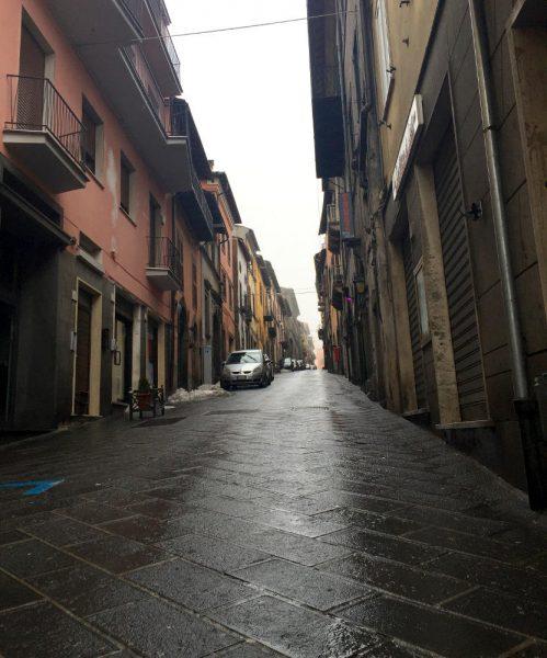 Montefiascone, durch das Stadttor