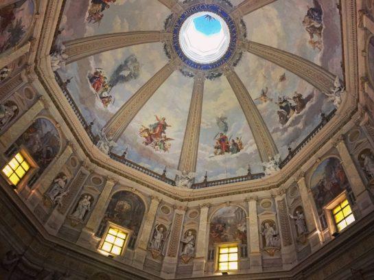Bemalte Kuppel von Santa Margherita