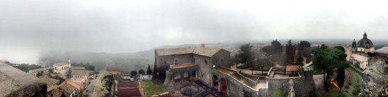 Rocca dei Papi: Aussicht (Panorama)