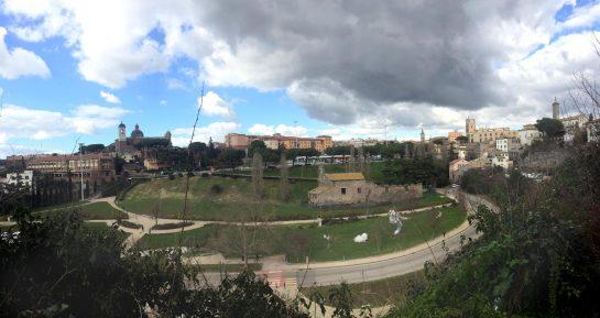 Blick auf Viterbo