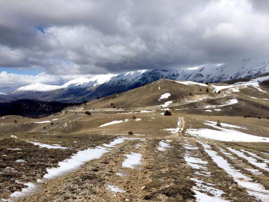 Gran Sasso: Blick in die Berge