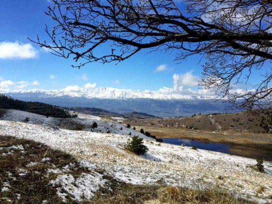 Gran Sasso: Blick ins Tal