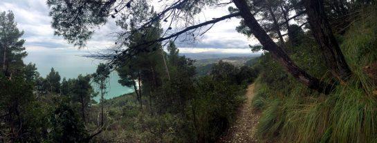 Monte Conero: Aussicht auf die Adria